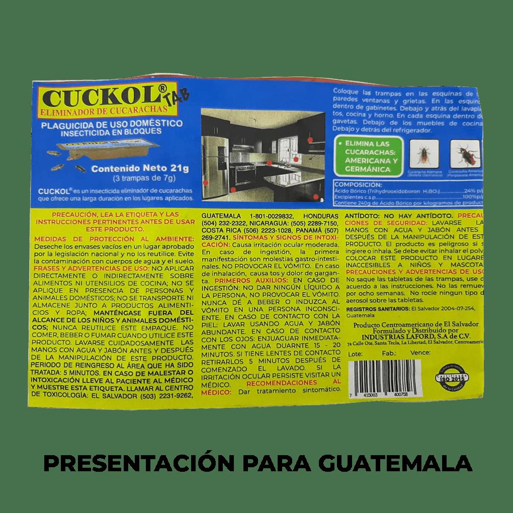 CUCKOL PARA GUATEMALA